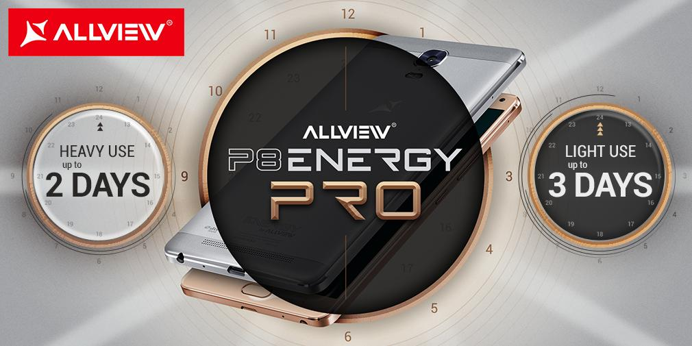 Allview P8 Energy Pro Specificatii