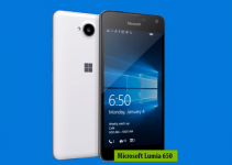 Microsoft Lumia 650 » Windows Mobile smartphone » Aparitie 2016 » Features 3G, 5.0″ OLED capacitive touchscreen, 8 MP camera » Wi-Fi, GPS, Bluetooth.