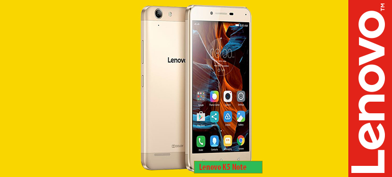 Lenovo K5 Note »» Android smartphone » Aparitie 2016 » 3G, 5.5″ LTPS IPS LCD capacitive touchscreen, 13 MP camera, Wi-Fi, GPS, Bluetooth.