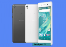 Sony Xperia E5 »» Android smartphone » Aparitie 2016 » 3G, 5.0″ IPS capacitive touchscreen, 13 MP camera, Wi-Fi, GPS, Bluetooth.