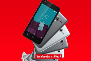 Vodafone Smart ultra 7 »» Android smartphone » Display 5.5″ IPS LCD capacitive touchscreen, 13 MP camera, Wi-Fi, GPS, Bluetooth.