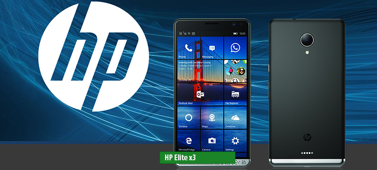 HP Elite x3 - Full phone specifications: