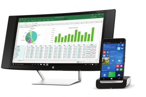 Hp smartphone »» HP Elite x3 »» Windows Mobile smartphone » Display 5.96″ Capacitive touchscreen, 16 MP camera, Wi-Fi, GPS, Bluetooth.