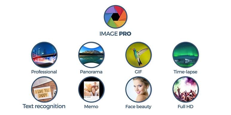 Functia Image Pro este o noutate si prin stabilitatea si ingeniozitatea sa ii poate oferi utilizatorului experiente noi si profesionale