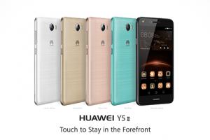 Huawei Y5 II este un smartphone foarte prietenos, cu un design placut si cu un procesor destul de solid. Spre surprinderea noastra, in ciuda display-ului mare, telefonul este foarte usor, perfect manevrabil de catre oricine si asigura cam tot ceea ce este necesare oricarui utilizator.