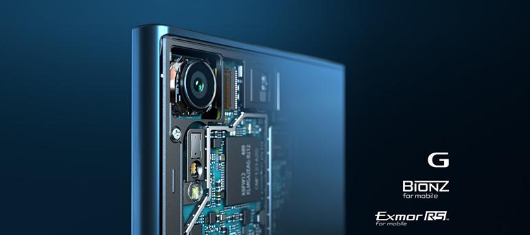 Sony Xperia XZ are o camera principala de 23 de megapixeli cu senzor Exmor RS, lentile f/2.0, autofocus de tip hybrid si evident flash Led si stabilizator de imagine