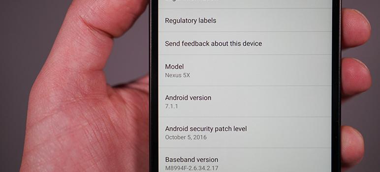 Android 7.1.1 va fi lansat pe 5 decembrie