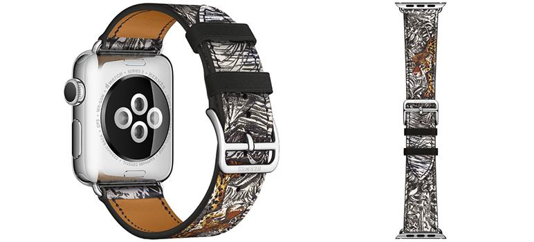 Brandul francez de moda Hermes, va lansa, potrivit unui zvon un numar de bratari pentru Apple Watch