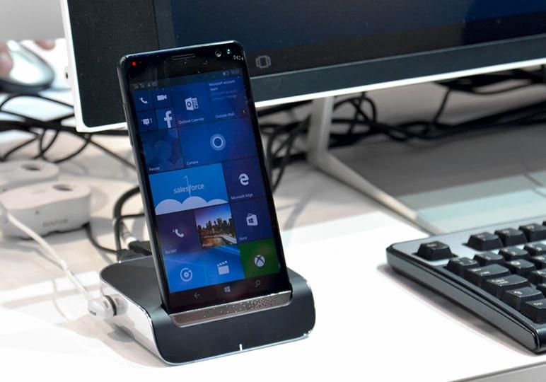 Hp si Microsoft lucreaza la un nou telefon cu windows 10