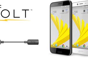 Htc ofera gratuit adaptor audio USB-C to 3.5mm pentru proprietarii de HTC Bolt