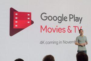 Google a inceput sa difuzeze continut 4K in Google Play Movies