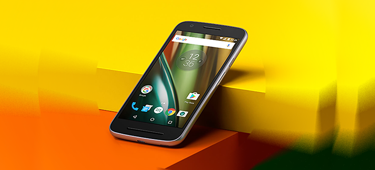 Smartphone-ul entry-level Lenovo Moto E3: review, pret, specificatii si opinii