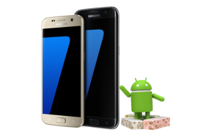 Samsung Galaxy S7 primeste oficial Android 7.0 Nougat beta
