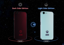 Smartphone-urile Star Wars sunt fabricate de Sharp si vin in doua editii: Dark side si Light side.