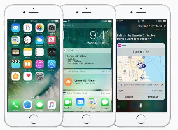 A aparut Apple iOS 10 2. Ce este nou?