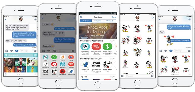 Nou in iOS 10.2: mesaje
