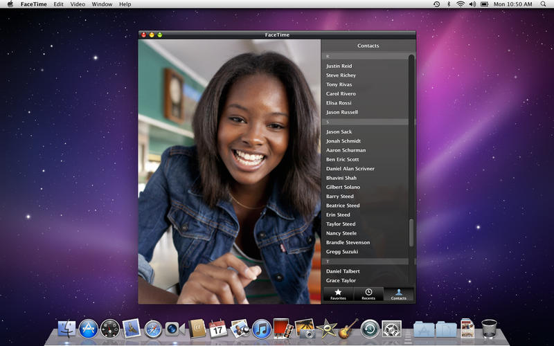 FaceTime pe Mac