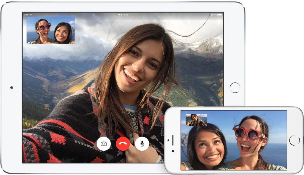 FaceTime pe iOS