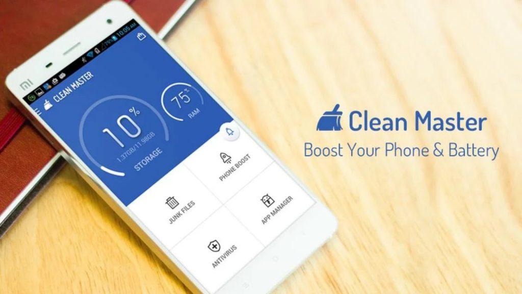 """Clean Master, aplicatie de """"curatare"""" a telefonului"""
