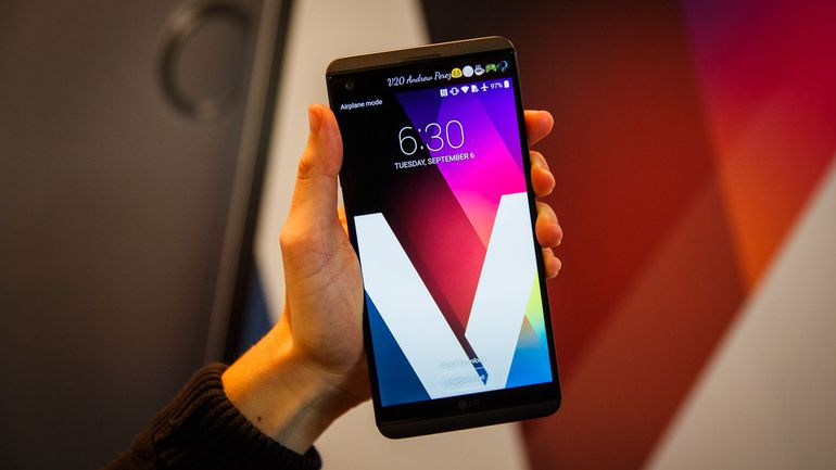 LG V20 cel mai bine vandut smartphone al LG in 2016