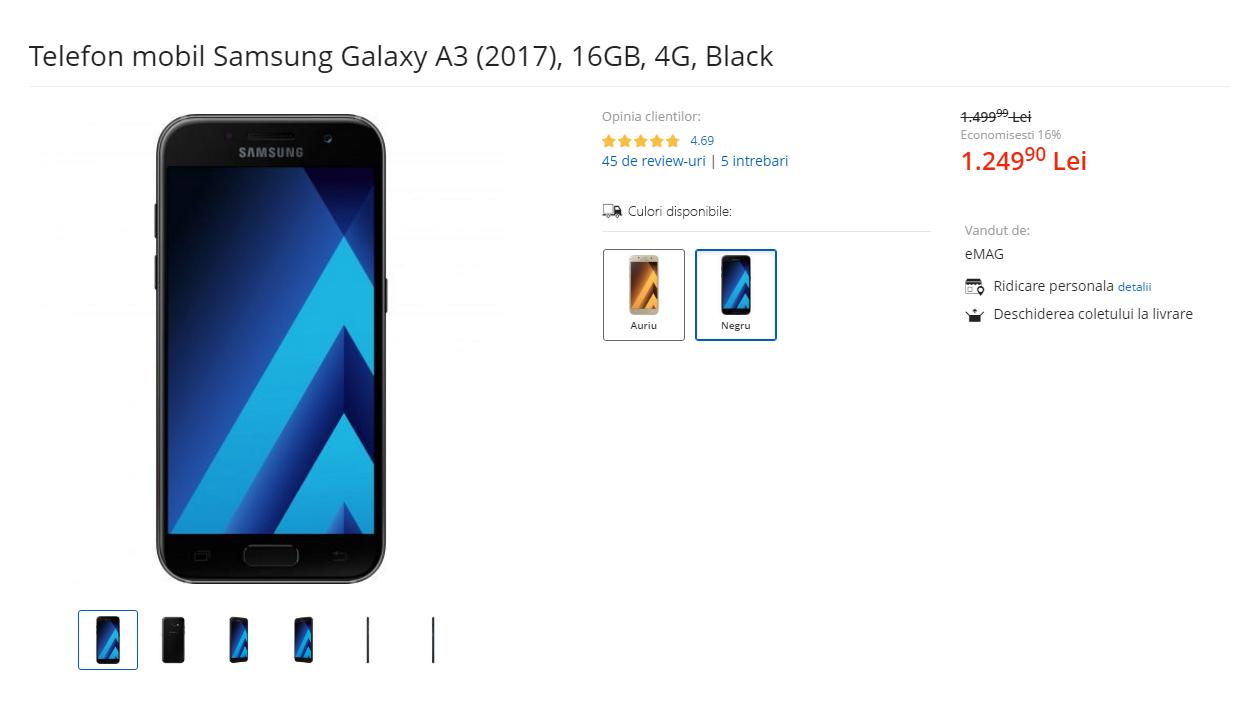 samsung galaxy a3 2017 emag