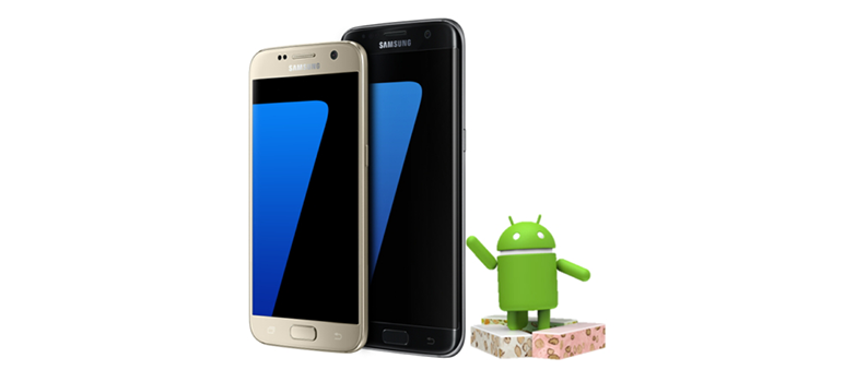 Samsung Galaxy S7 beneficiaza de acum de Android 7.0 Nougat