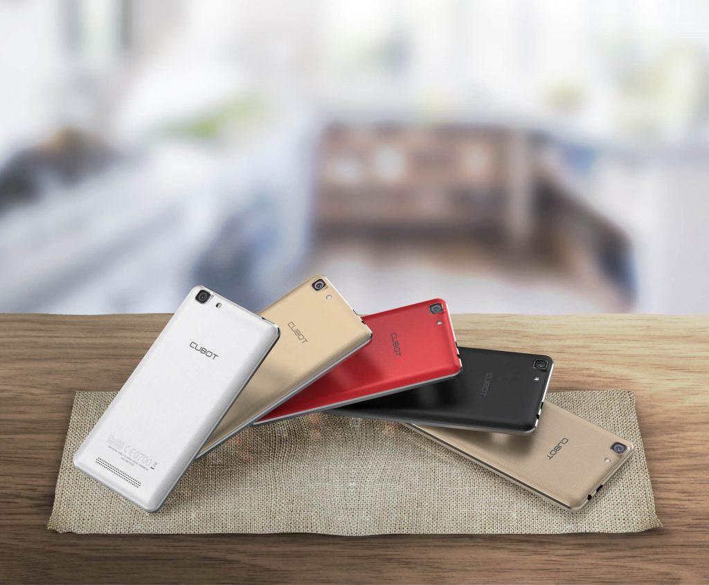 Cubot Rainbow 2 smartphone de buget cu Android 7.0 Nougat