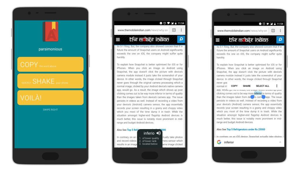 5 aplicatii Android: Instadict