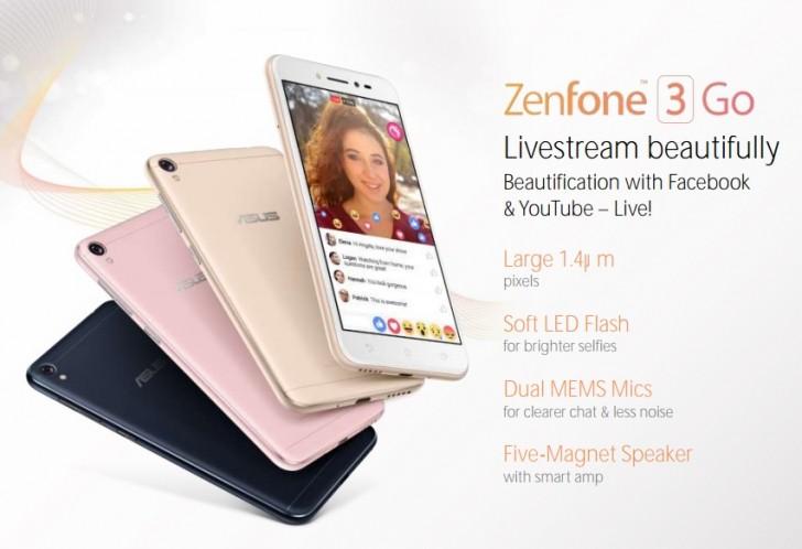 Lansare Asus ZenFone 3 GO