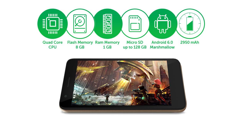 Allview P6 Energy Mini, smartphone de buget cu baterie de 3000 mAh