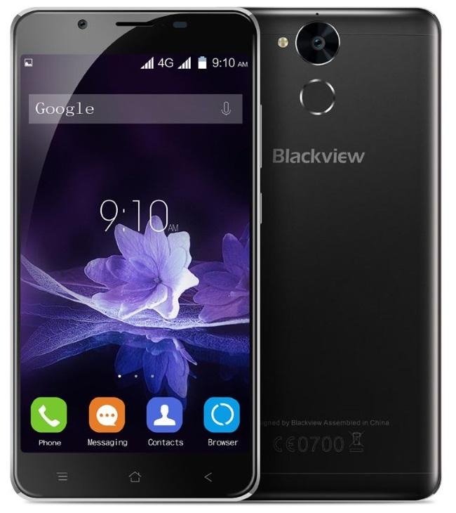 Blackview P2 Lite smartphone cu 3GB memorie RAM si baterie de 6000 mAh