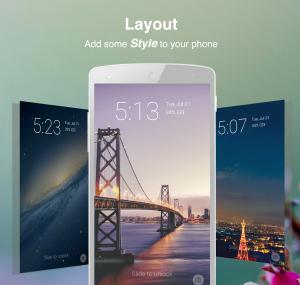 Echo - Cele mai bune aplicatii de blocare a ecranului pentru telefonul tau Android