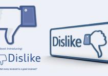 Facebook buton dislike