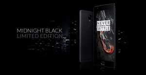 OnePlus 3T Midnight Black editie limitata cu un aspect senzational 1