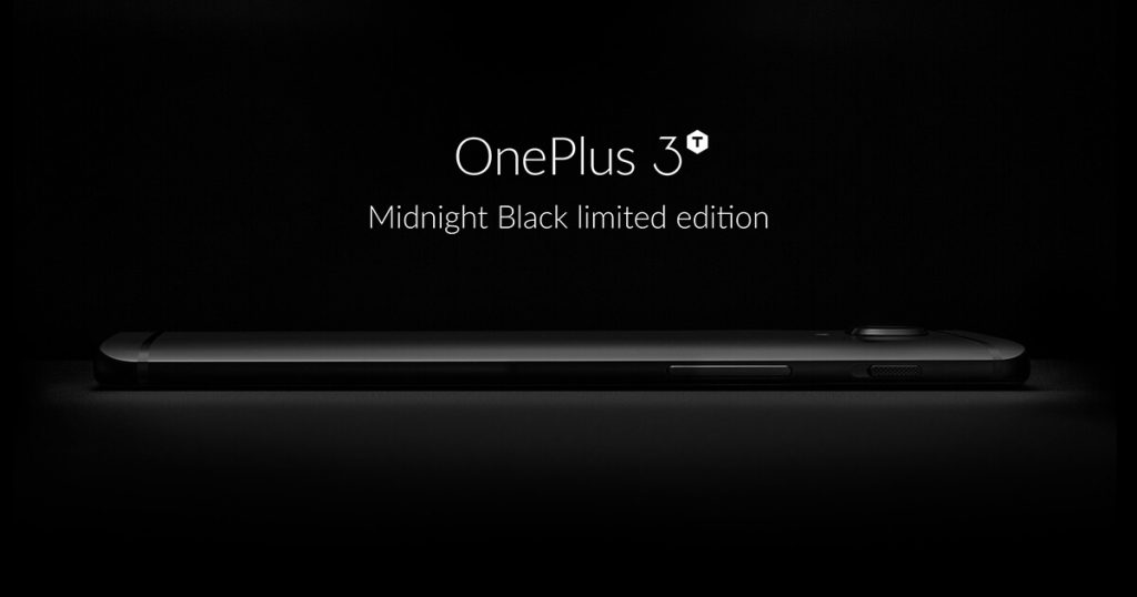 OnePlus 3T Midnight Black editie limitata cu un aspect senzational 2