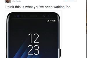 Samsung Galaxy S8 imagine oficiala oferita de phone-leaker-ul Evan Blass