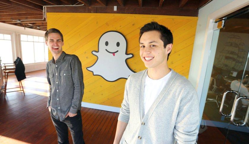 Snapchat: Evan Spiegel si Bobby Murphy