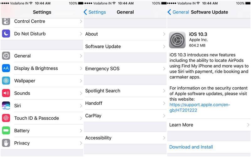 iOS 10.3 lansat oficial (3)