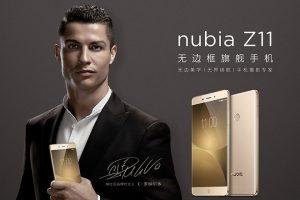ZTE Nubia Z11 Cristiano Ronaldo
