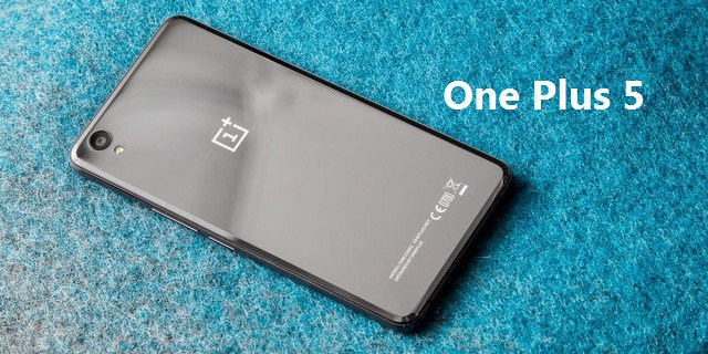 OnePlus 5 confirmat oficial de producator