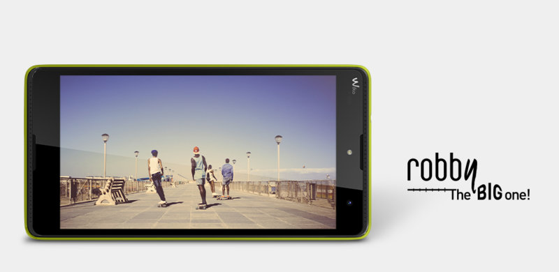 Wiko Robby smartphone dual SIM cu baterie de 2500mAh 3