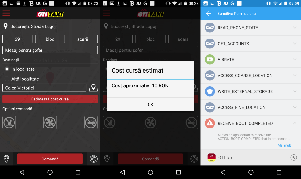 Cele mai bune aplicatii taxi pentru iOS si Android (1)