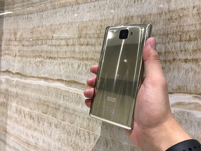 Elephone S8 Gold Edition surprins in imagini reale