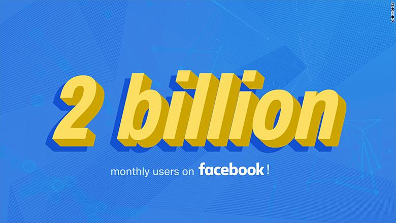 E oficial: Facebook a atins  borna 2 miliarde de utilizatori