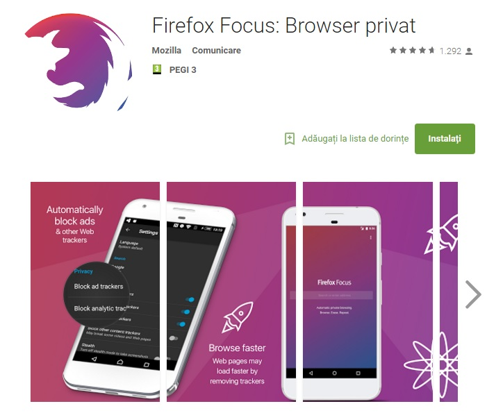 Firefox Focus Browser