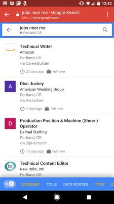 Google te ajuta sa-ti gasesti de lucru
