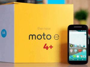 Noul Moto E4 Plus