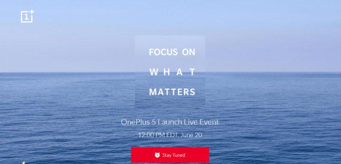 OnePlus 5 data oficiala de lansare