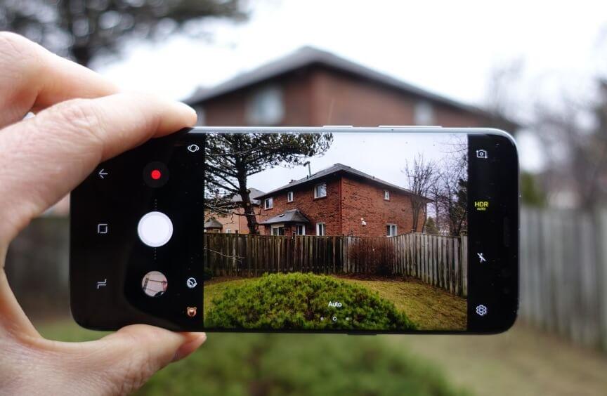 Samsung Galaxy S8 - camere foto