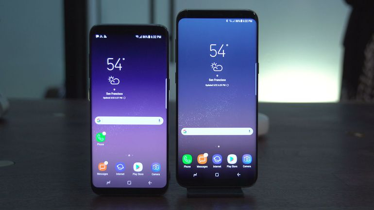 Samsung Galaxy S8 si Samsung Galaxy S8 Plus